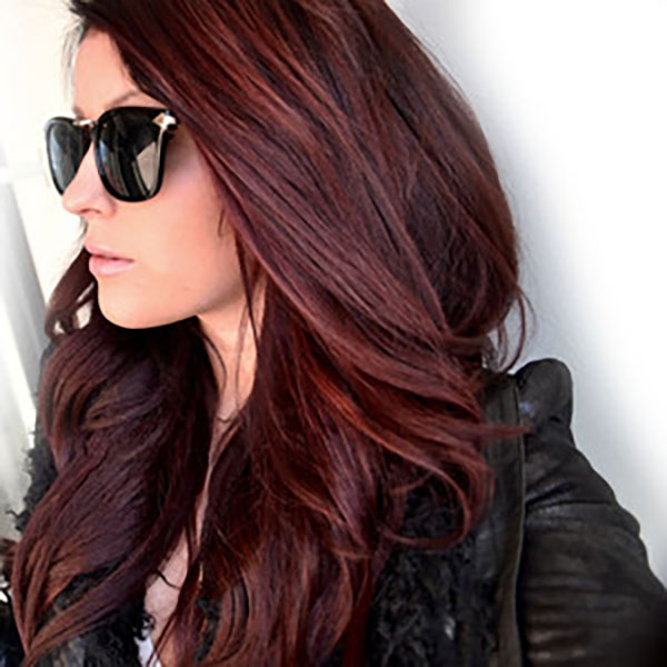 I want her hair color!!!